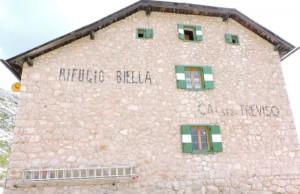 Il rifugio Biella