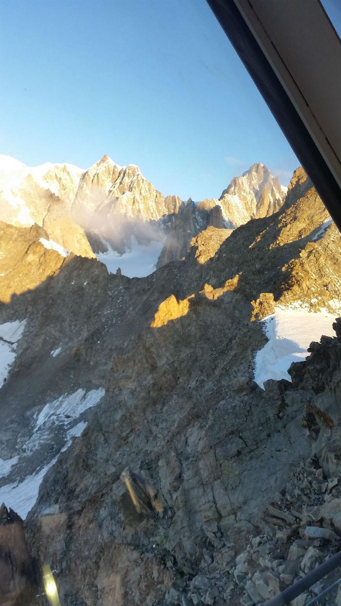 Monte Bianco dalla funivia